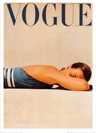 Famous classic Vogue cover.